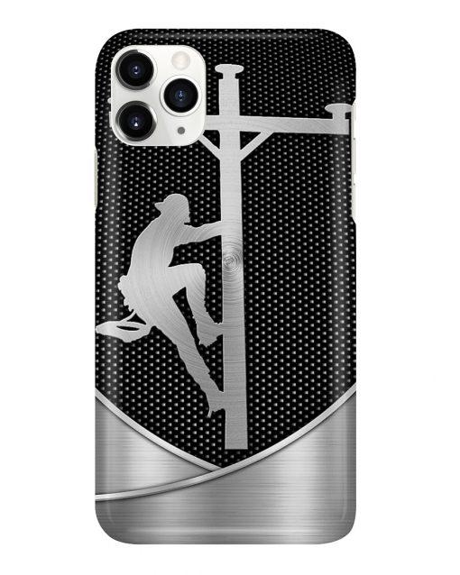 Lineman as metal phone case 11