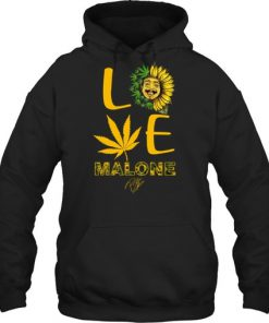 Love Post Malone Sunflower Weed hoodie
