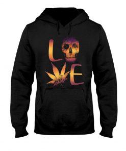 Love Skull Weed Hoodie