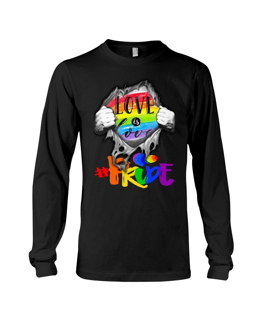 Love is Love LGBT pride long sleeved