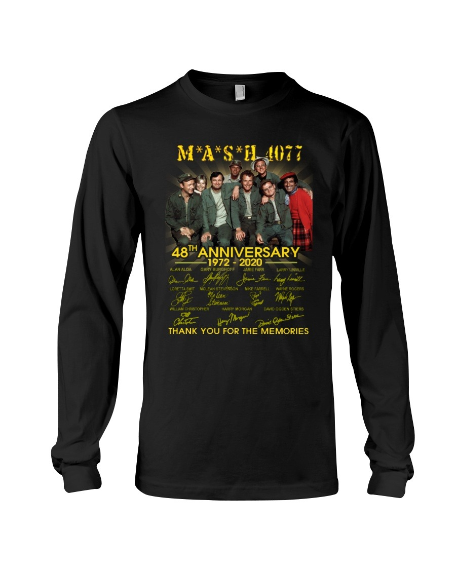 MASH 4077 48th anniversary Long sleeve