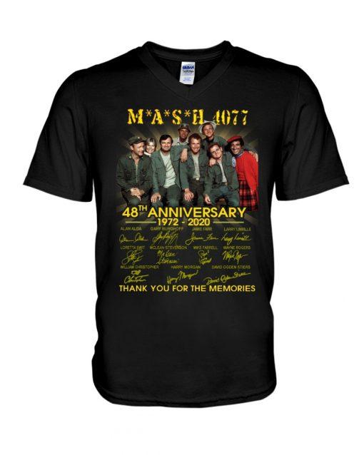 MASH 4077 48th anniversary V-neck