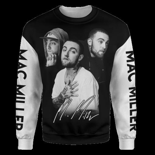 Mac Miller Signature 3D sweatshirt
