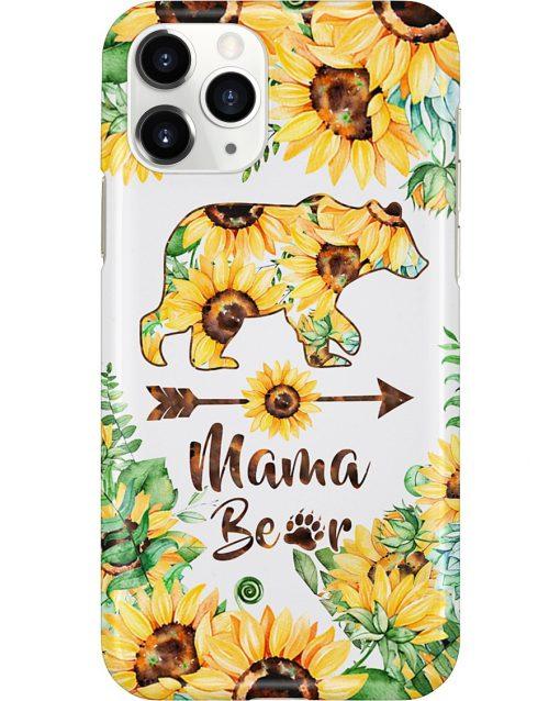 Mama bear Sunflower phone case 11