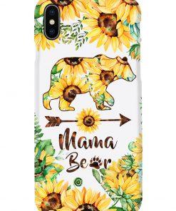 Mama bear Sunflower phone case x