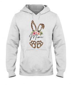 Mimi Bunny Leopard skin Floral Hoodie