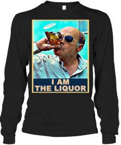 Mr Lahey drunk I am the liquor vintage Long sleeve