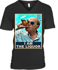 Mr Lahey drunk I am the liquor vintage V-neck