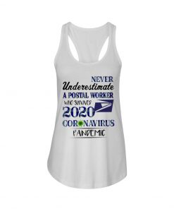 Never underestimate A postal worker who survived 2020 Coronavirus pandemic Tank top