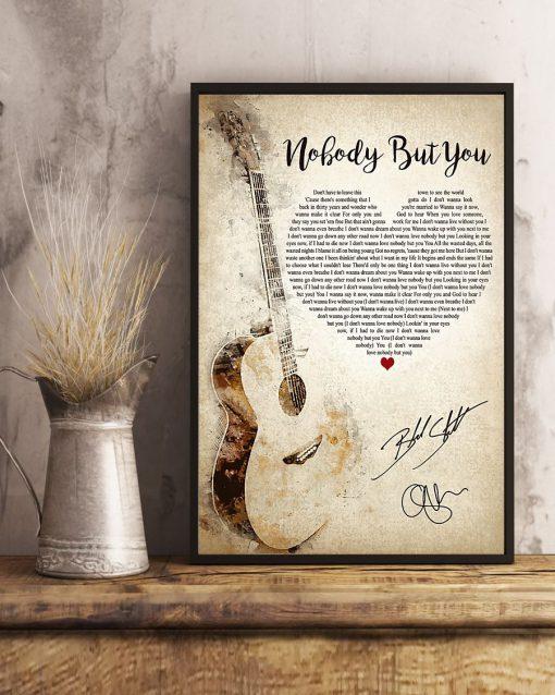 Nobody But You Lyrics poster4