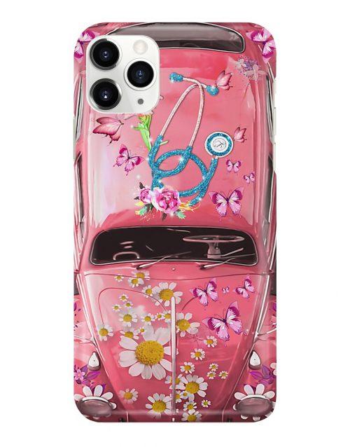 Nurse Pink Volkswagen Beetle VW Bugs phone case 11