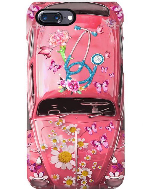 Nurse Pink Volkswagen Beetle VW Bugs phone case 7