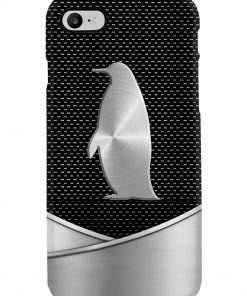 Penguin as metal phone case 7