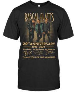 Rascal Flatts 20th Anniversary T-shirt