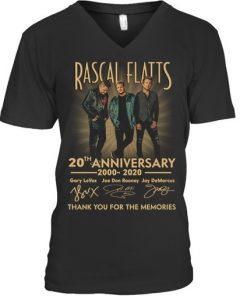 Rascal Flatts 20th Anniversary V-neck