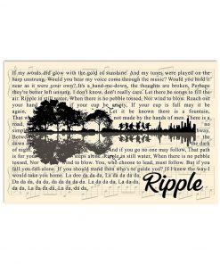 Ripple Lyrics Guitar poster1