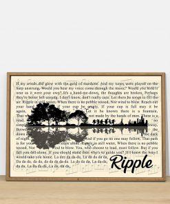 Ripple Lyrics Guitar poster3