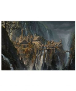 Rivendell Lord of The Rings poster1