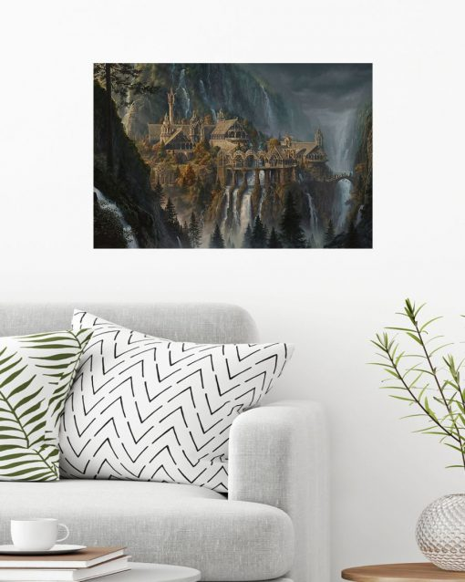 Rivendell Lord of The Rings poster2