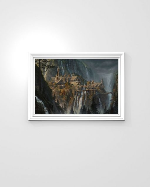 Rivendell Lord of The Rings poster3