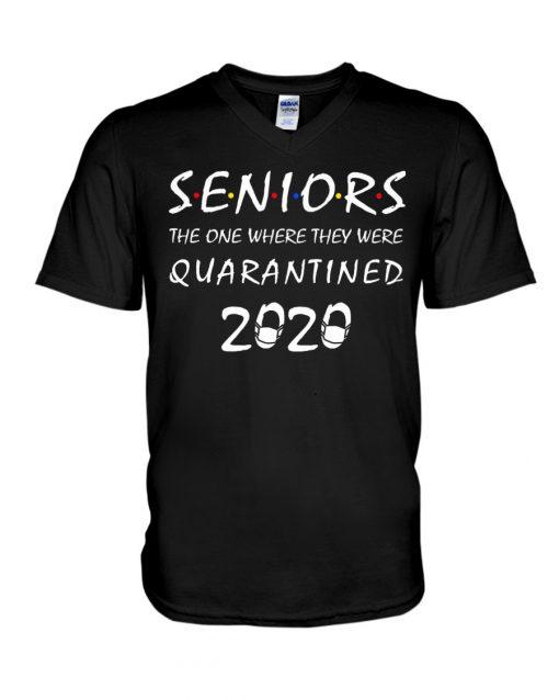 Seniors The one where they were quarantined 2020 V-neck