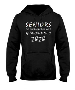 Seniors The one where they were quarantined 2020 hoodie