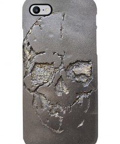 Skull 3d metal phone 7