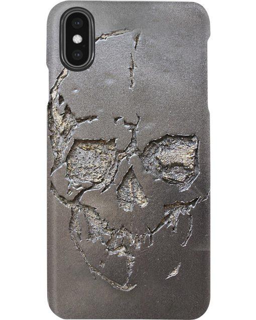 Skull 3d metal phone Xs