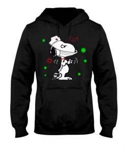 Snoopy Nurse fight coronavirus hoodie