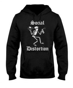 Social Distortion Skull Coronavirus hoodie