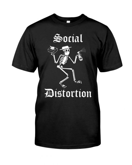 Social Distortion Skull Coronavirus shirt