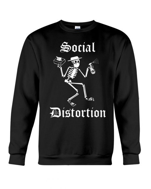 Social Distortion Skull Coronavirus sweatshirt