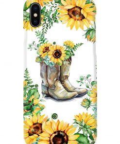Sunflower Boots phone case 11
