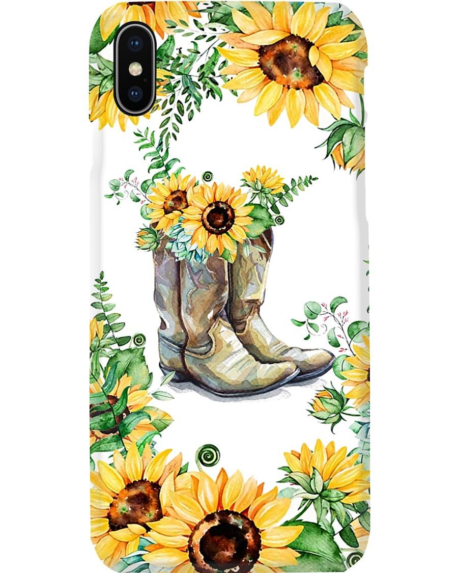 Sunflower Boots phone case 11