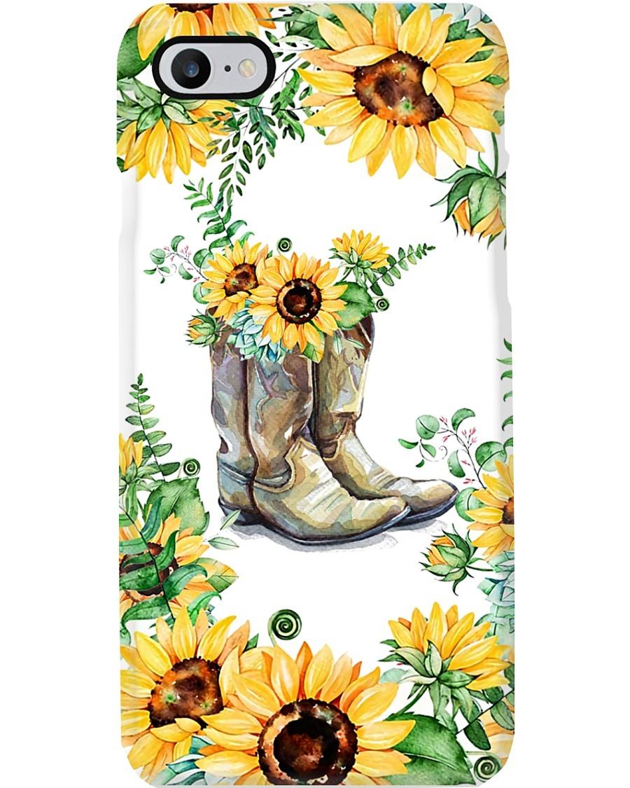 Sunflower Boots phone case 7