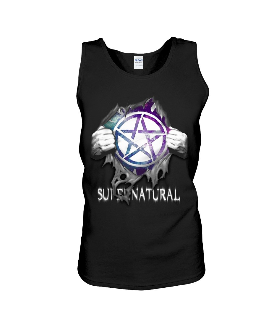 Supernatural inside me tank top