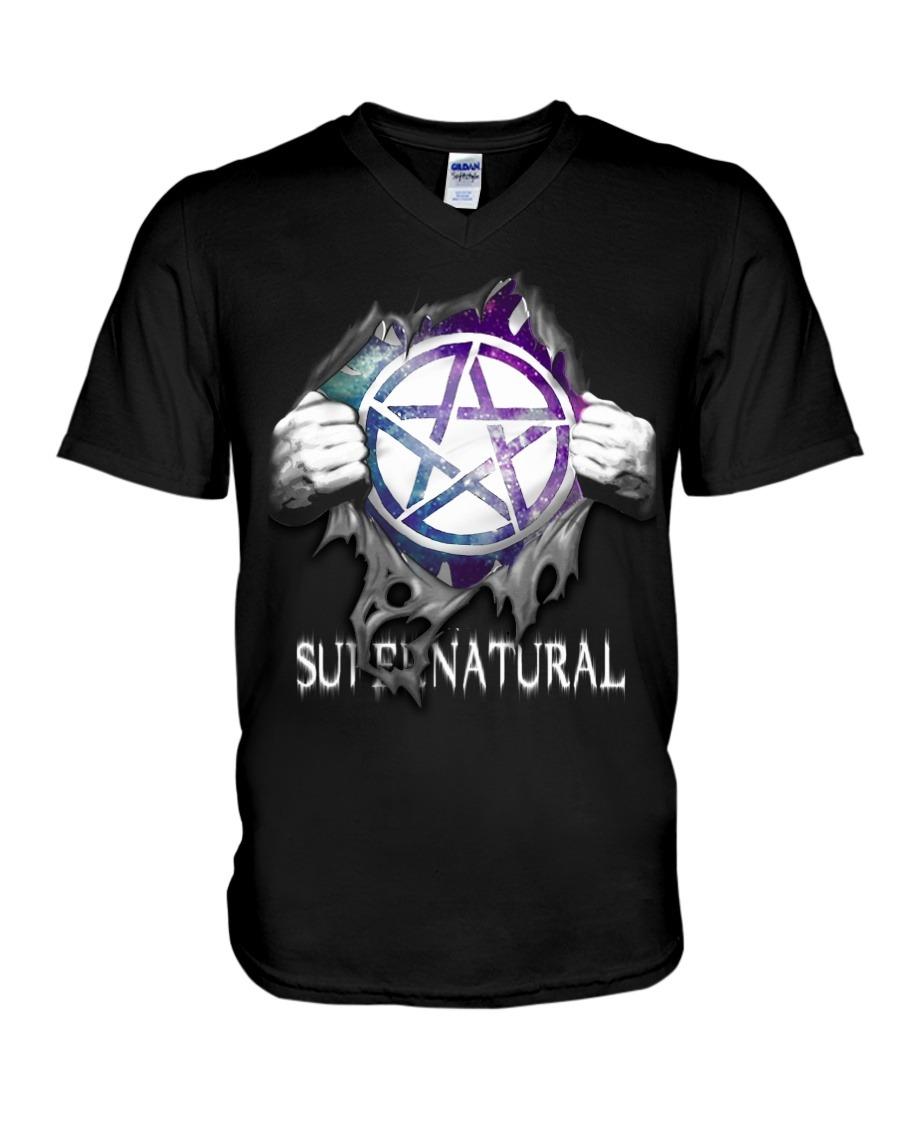 Supernatural inside me v-neck