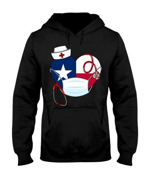 Texas Heart Nurse 2020 hoodie