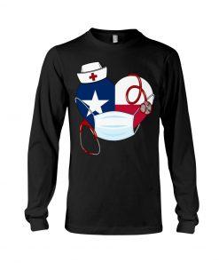 Texas Heart Nurse 2020 long sleeved