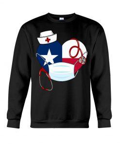 Texas Heart Nurse 2020 sweatshirt