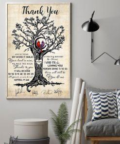 Thank you Led Zeppelin Cardinal poster 2