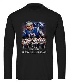 Thank you Tom Brady 2000 - 2020 Long sleeve