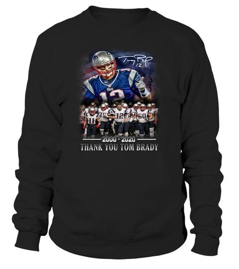 Thank you Tom Brady 2000 - 2020 Sweatshirt