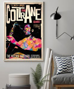 The mecca of Jazz John Coltrane Quintet Poster 2