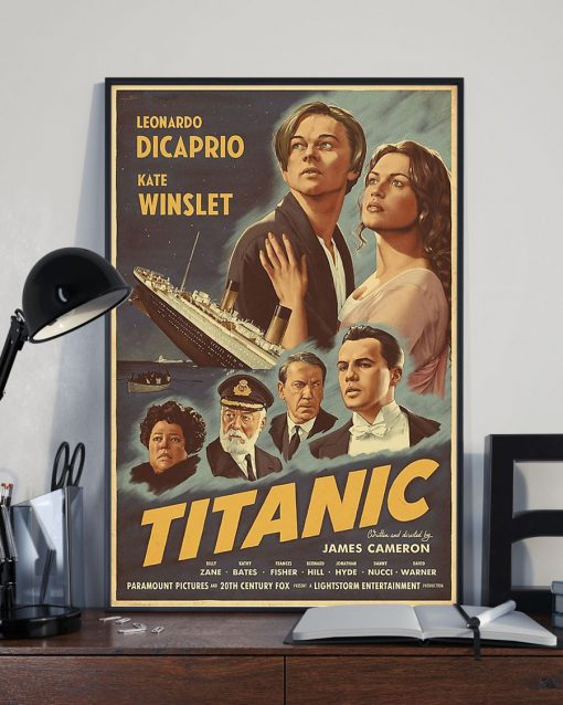 Titanic Movie 1997 art vintage poster 3