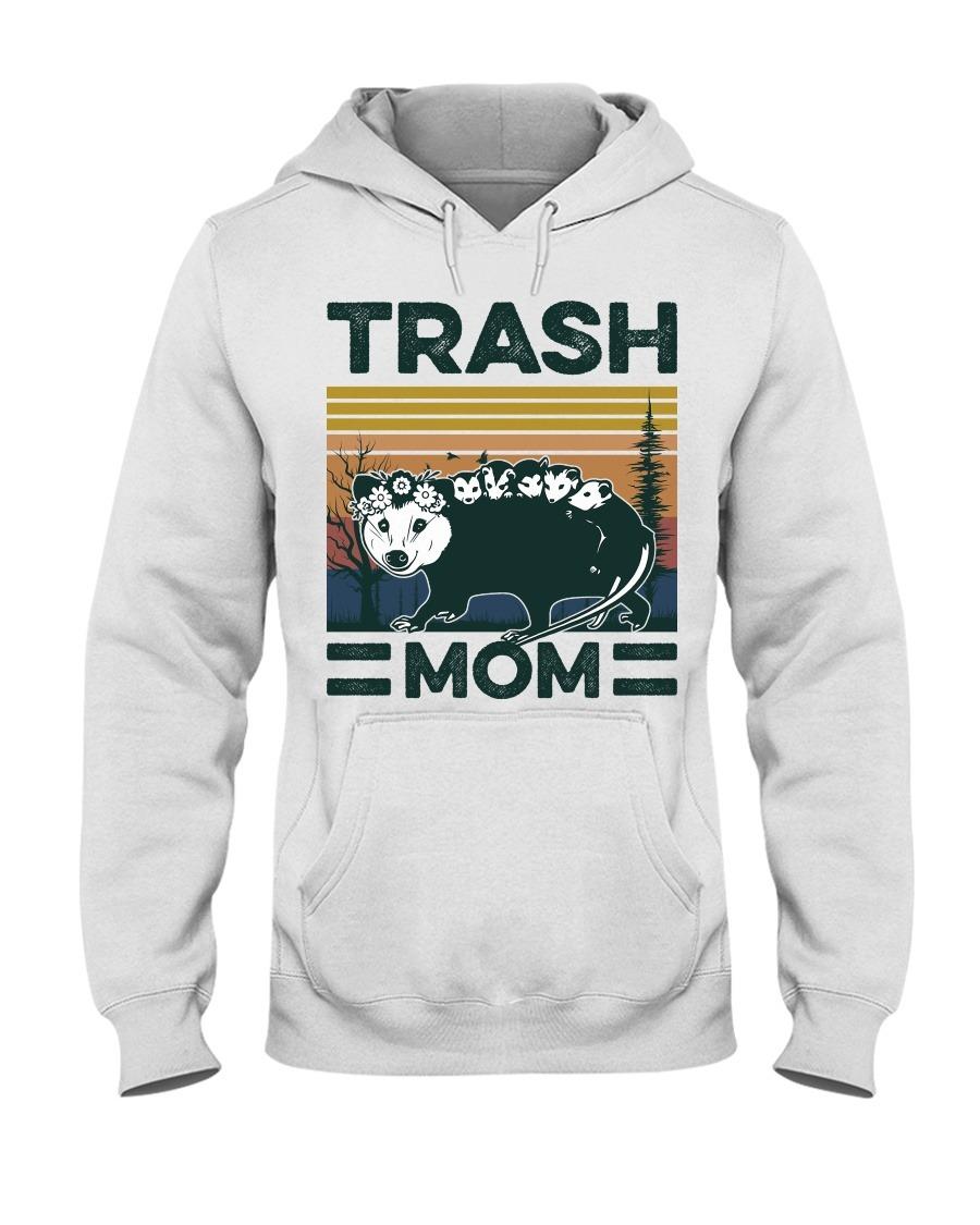 Trash Mom vintage Hoodie