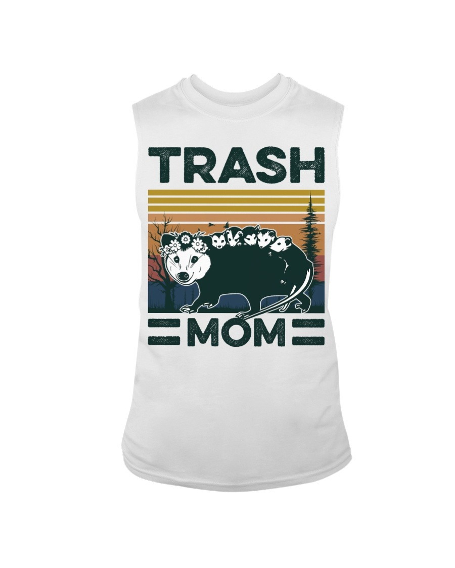 Trash Mom vintage Tank top