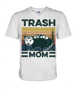 Trash Mom vintage V-neck
