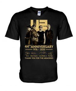 U2 44th anniversary thank you for the memories v-neck