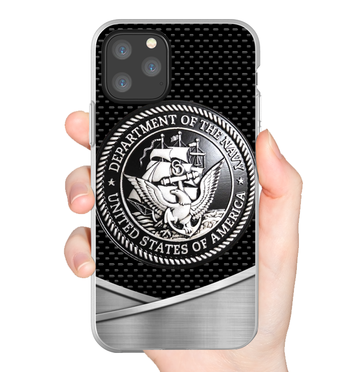 United States Navy as metal phone case 11